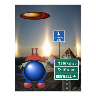 Vulcan Mars Roswell Magnetic Card
