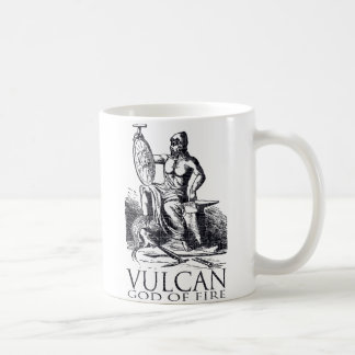 Vulcan Classic White Coffee Mug