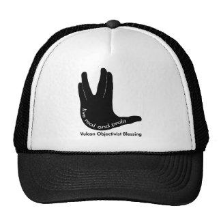 Vulcan Objectivist Cap Trucker Hat