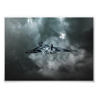 Vulcan Storm Photo Print