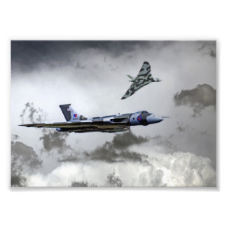 Vulcan Wingman Photo Print