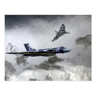 Vulcan Wingman Postcard