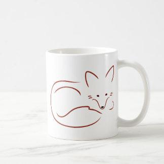 Vulpes Vulpes Classic White Coffee Mug