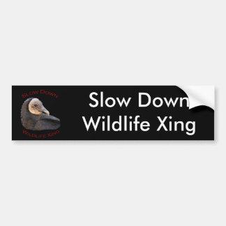 vulture bumper sticker