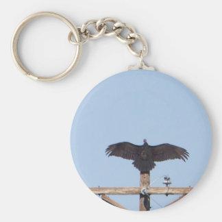 Vulture Ceremonial Basic Round Button Keychain