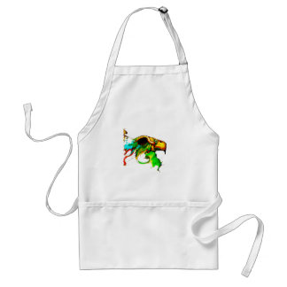 vulture-chicken adult apron