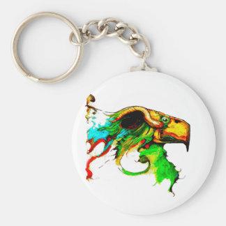 vulture-chicken key chain