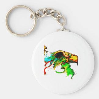 vulture-chicken key chains