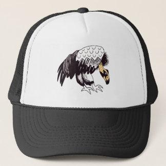 Vulture Illustration Trucker Hat