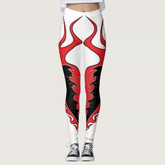 Vulture Kulture® Flaming Heart Leggings