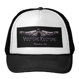 Vulture Kulture® Metal Logo Baseball Hat