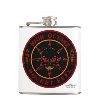 Vulture Kulture® Rocket Fuel Vinyl Wrapped Flask
