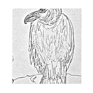 vulture notepad