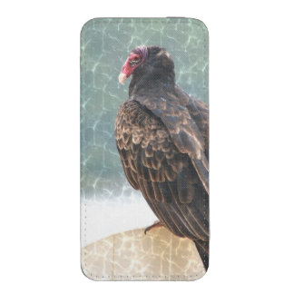 Vulture On Lifeguard Chair Smartphone Pouch