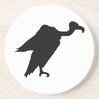 Vulture Silhouette Coasters
