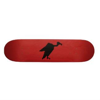 Vulture Silhouette Custom Skateboard