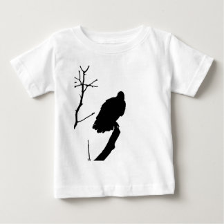 Vulture Silhouette Love Bird Watching Raptors Baby T-Shirt