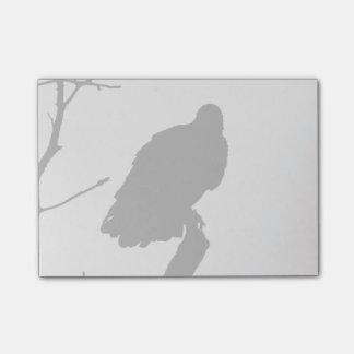 Vulture Silhouette Love Bird Watching Raptors Post-it® Notes