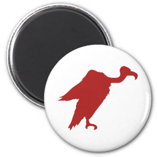 Vulture Silhouette Magnet