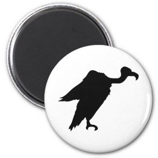 Vulture Silhouette Magnets