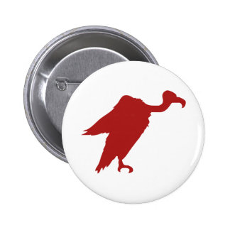 Vulture Silhouette Pin