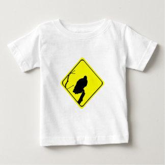 Vulture Warning Sign Love Bird Watching Raptors Baby T-Shirt