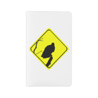 Vulture Warning Sign Love Bird Watching Raptors Large Moleskine Notebook
