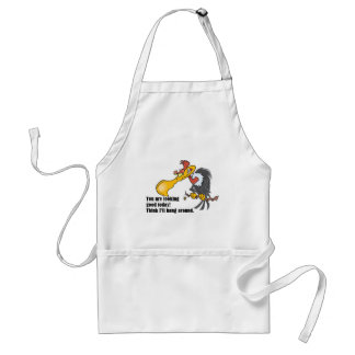 Vulture: You are looking good today. Adult Apron