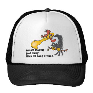 Vulture: You are looking good today. Trucker Hat
