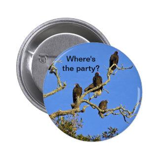 Vultures Button