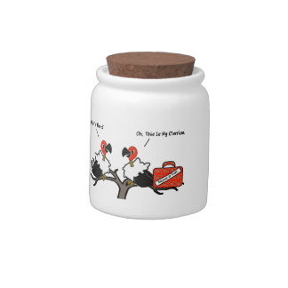 Vultures Carrion Carry-on Luggage Cartoon Candy Jars