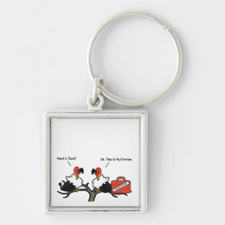 Vultures Carrion Carry-On Luggage Cartoon Key Chain