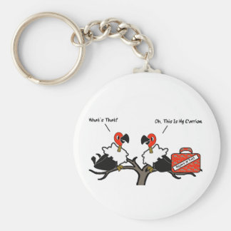 Vultures Carrion Carry-on Luggage Cartoon Keychains
