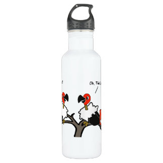 Vultures Carrion Carry-on Luggage Cartoon Stainless Steel Water Bottle
