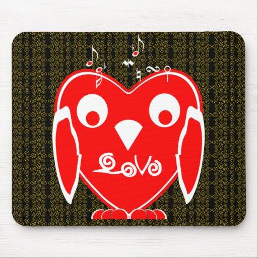 VUVA heart Mouse Pad
