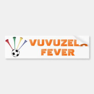 Vuvuzela Fever Bumper Sticker