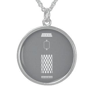 VV Like a Pro Sterling Silver Necklace