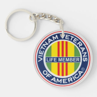 VVA Lifetime Member Key Chain