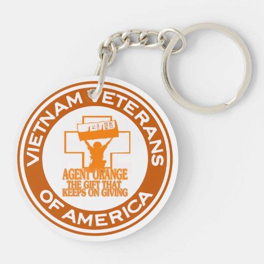 VVA Purple Heart Keychain