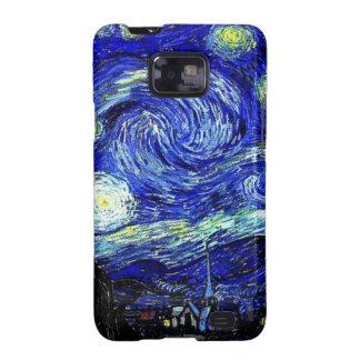 vVan Gogh Starry Night Fine Art Samsung Galaxy SII Case