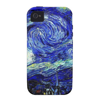 vVan Gogh Starry Night Fine Art Case For The iPhone 4
