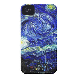 vVan Gogh Starry Night Fine Art iPhone 4 Cover