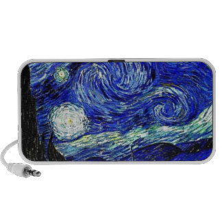 vVan Gogh Starry Night Fine Art Mp3 Speaker