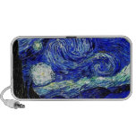 vVan Gogh Starry Night Fine Art Notebook Speaker