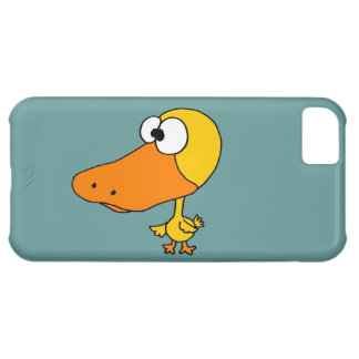 VW- Funny Big Headed Duck Cartoon Case For iPhone 5C