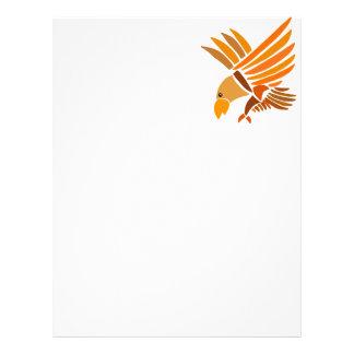 VW- Soaring Eagle Art Design Letterhead