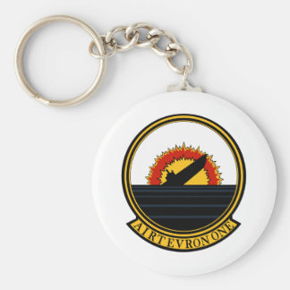 VX-1 Air Test and Evaluation Squadron ONE Pioneers Basic Round Button Keychain