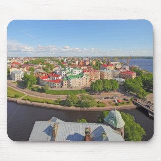 Vyborg Rusia Leningrad Oblast de la torre de Olaf Tapetes De Ratones