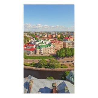 Vyborg Rusia Leningrad Oblast de la torre de Olaf Tarjetas De Visita