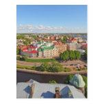 Vyborg Rusia Leningrad Oblast de la torre de Olaf Postal